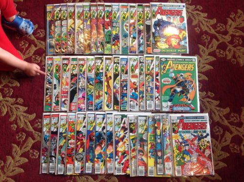 Avengers Marvel Comics Lot 45 TOTAL mostly 126-163 104 196 Hulk Iron Man Thor