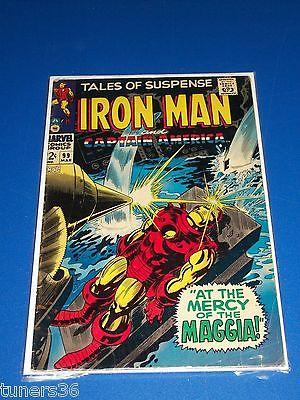 Tales of Suspense #99 Silver Age Iron Man pre Captain America 100 Last Issue