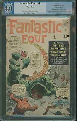 Fantastic Four #1 1st app. FF PGX 4.0 1961 Marvel