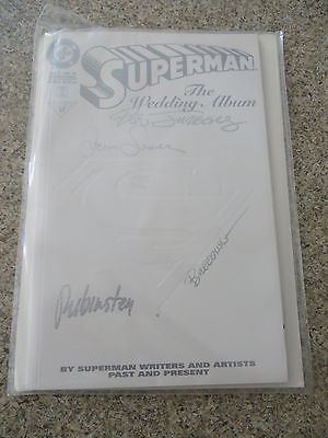 Superman: The Wedding Album #1 (Dec 1996, DC) signed with COA