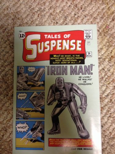 Tales of Suspense #39 Reprint  Marvel Legends First Appearance of Iron Man