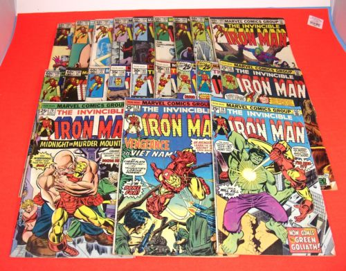 LOT Iron Man Comics 76 78 79 82 85 88 99 101 114 157 158 159 160 161 162 MORE