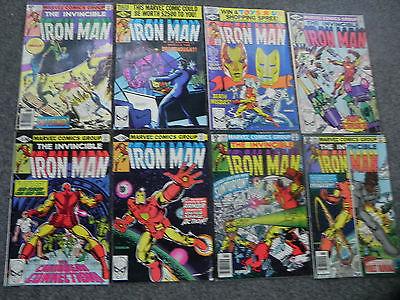 Marvel The Invincible Iron Man 137-144 Full Run