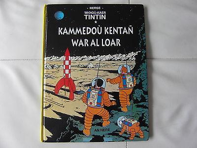 Tintin en breton rare 1 edition 1500 exp on a marche sur la lune
