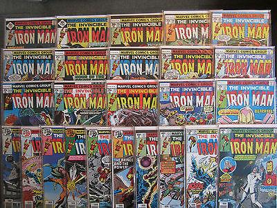 IRON MAN (Marvel US) 101 - 125 , komplett, 25 Comics, Top Zustand