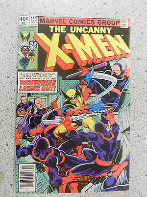 1980 MARVEL THE UNCANNY X-MEN #133 at least an 8.0 VF COMIC BOOK