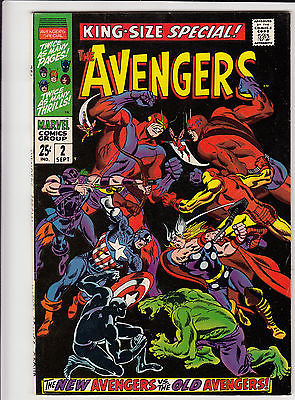 AVENGERS KING SIZE SPECIAL #2_SEPT 1968_F/VF_NEW AVENGERS Vs ORIGINAL AVENGERS