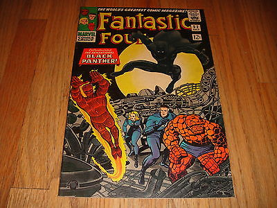 Fantastic Four #52 Vol 1 Super High Grade NM 9.4 1st App Black Panther Very Rare