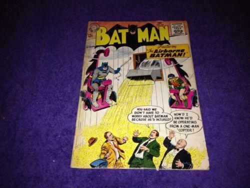 10 cent BATMAN 120 G DEC 1958 DC ROBIN 1st WHIRLEY BAT uncertified