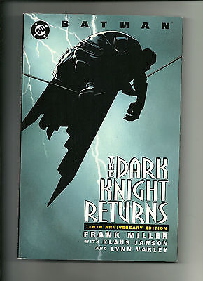 BATMAN The Dark Knight Returns -10nth Ann. ed  (DC Comics 1996) TPB -( *VF/NM+)*
