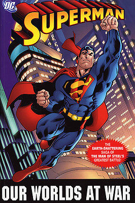 TPB Superman: Our Worlds at War 492 pages+cover gallery Used in good condition
