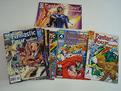 US Marvel: FANTASTIC FOUR Unlimited # 1-12 komplett (1993-95) Inhumans, Sammlung