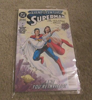 Superman The Wedding Album Comic Book - Rare Collectible Issue #1