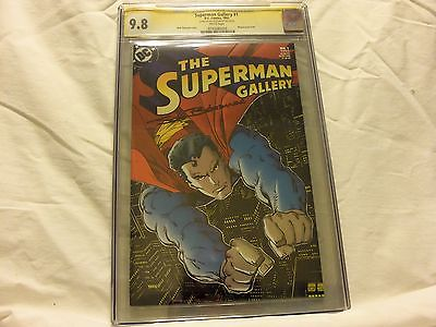 SIGNATURE SERIES THE SUPERMAN GALLERY #1 CGC  9.8