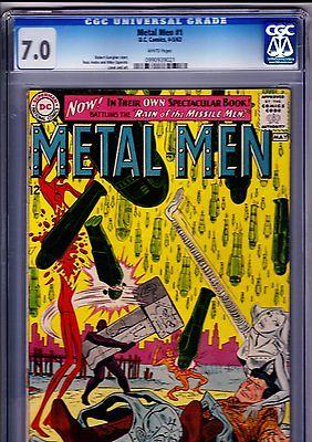 Metal Men 1 - DC Silver Age Key Comic Graded CGC 7.0