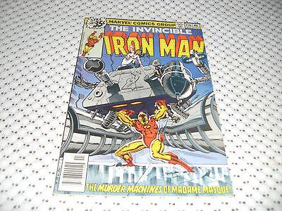 ( 5 ) Iron Man # 116 - 120  (Nov 1978, Marvel)