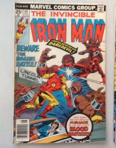 Iron Man 89-139 lot inc. 100 Avengers, Sub-Mariner, Daredevil