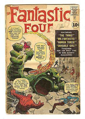 Fantastic Four 1   Origin & 1st Fantastic Four   1st Mole Man