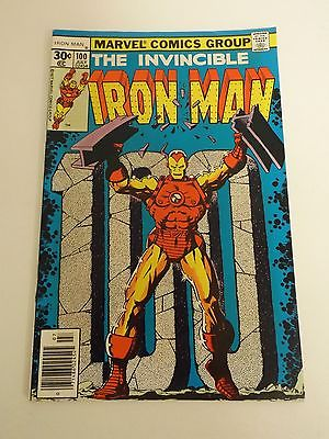 Iron Man #100 Huge auction going on now Free shipping on orders over $100.00