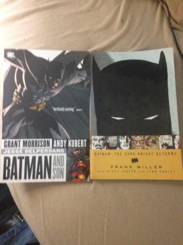 Batman: The Dark Knight Returns & Batman And Son TPB Frank Miller Grant Morrison