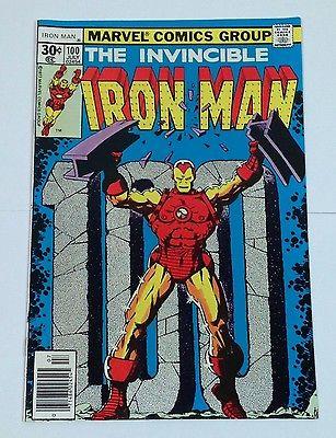 Marvel - Iron Man - Issue # 100 -  Bronze Age Key Issue