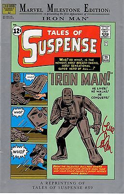 Marvel Milestone Edition TALES OF SUSPENSE #39 signed by Gene Colan & Don Heck
