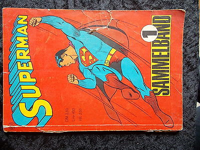 SUPERMAN Sammelband 1966 Band 1-4
