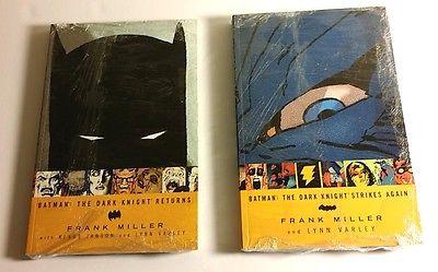 DC BATMAN THE DARK KNIGHT RETURNS/STRIKES AGAIN FRANK MILLER TPB GRAPHIC NOVEL