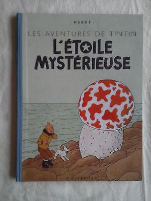 Tintin- L'étoile mystérieuse- Edition B1 - 1946- TRES TRES BON ETAT