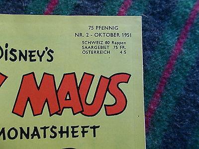 ORIGINAL MICKY MAUS 1951- 1956 und alle SONDERHEFTE 1-33 ZUSTAND 0-1