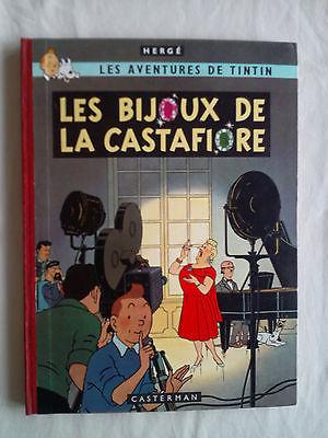 Tintin-Les Bijoux de la Castafiore - Tirage de tête - 1963 -  QUASI NEUF -
