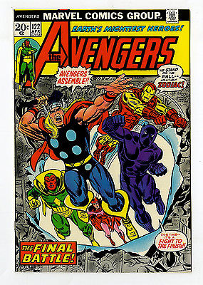 Avengers #122 NM/MT 9.8 Iron Man Thor Vision Black Panther Marvel Bronze Age