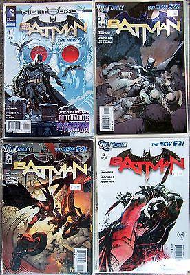 Batman DC New 52 1 -10 Plus Batman Annual Night Of The Owls All Boarded & Bagged