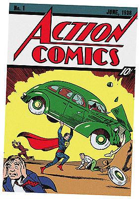 Action Comics #1 June 1938 Superman Animation Cel Max Fleischer CGC 9.0 art