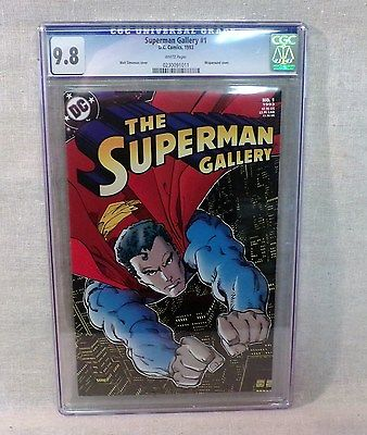 CGC Graded DC Comic: The SUPERMAN Gallery Issue No.1  1993  High Grade 9.8