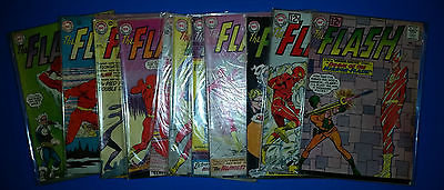 DC COMICS THE FLASH SILVER AGE KEY ISSUES 126 129 130 132 133 134 136 137 138