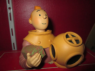 Hergé PIXI éditions    Buste Tintin en scaphandre Ref:30011 TBE
