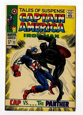Tales of Suspense #98 NM 9.4 Captain America Iron Man Marvel Silver Age Avengers