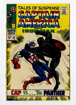 Tales of Suspense 98 NM+ 9.6 Captain America Iron Man Marvel Silver Age Avengers