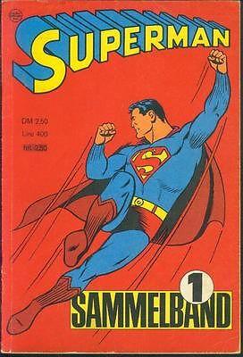 Superman Sammelband Nr.1 mit Superman Nr.1-4 von 1966 - ORIGINAL COMIC-RARITÄT
