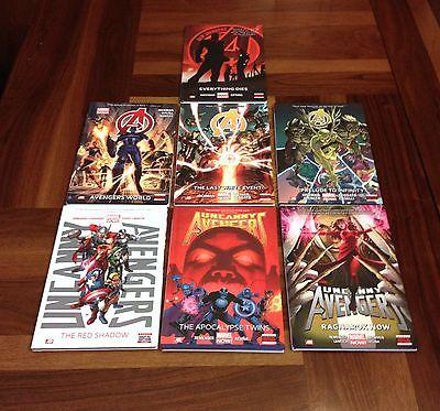 Avengers, Uncanny Avengers & New Avengers Hardcover Lot