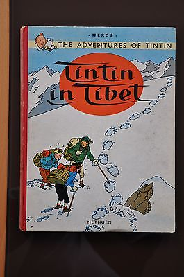 TINTIN IN TIBET (The Adventures of Tintin)  by HERGE. First Edition 1962