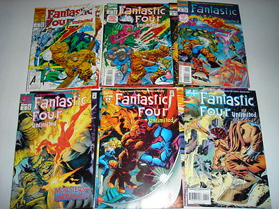 FANTASTIC FOUR UNLIMITED #1-12 MARVEL COMICS THING (12)