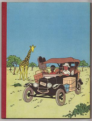 "VENTE Hergé Lot 53 ""TINTIN au CONGO"" Edition dite ""UNIVERSEL"" 8 ex au monde"