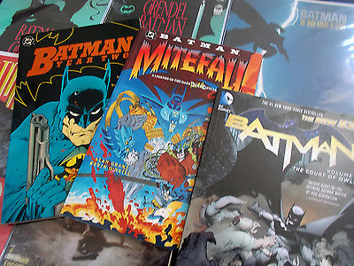 UPDATED Batman 11 tpb Court of Owls, Dark Knight Returns, Death in the Family