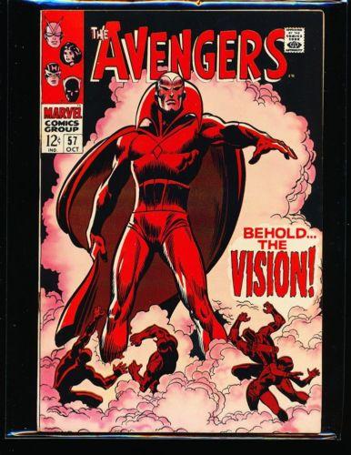 Avengers # 57 - 1st Vision Fine+ Cond.