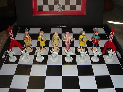 HERGE Superbe Jeux d'échecs TINTIN Pixi en état flambant neuf no Fariboles