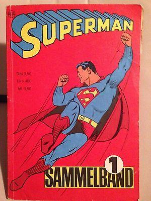 Superman Sammelband 1 / Heft 1-4 v. September 1966
