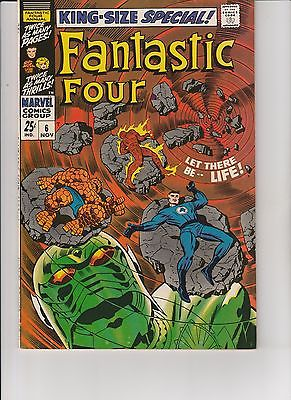 Fantastic Four #6 king size special     about 4.0  UnRestored, Nice (NC 2-1)