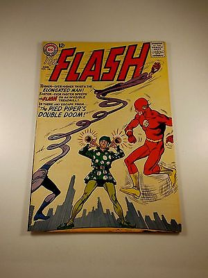"""The Flash #138 """"Pied Piper's Double Doom"""" Sharp VG++ Condition"""